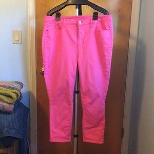 Talbots pink pants